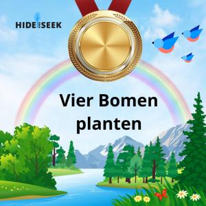 vier bomen planten certificaat