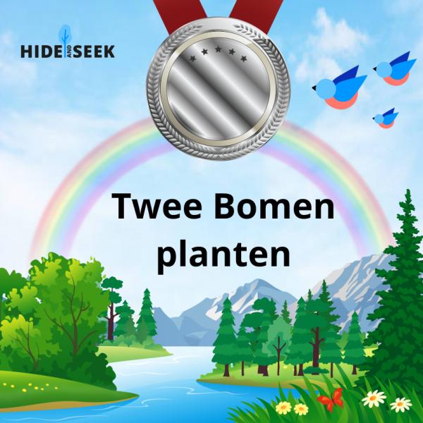 twee bomen planten certificaat