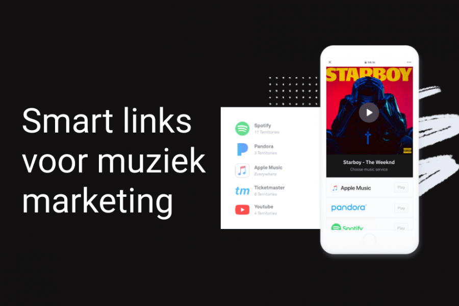 Smart links voor muziekmarketing