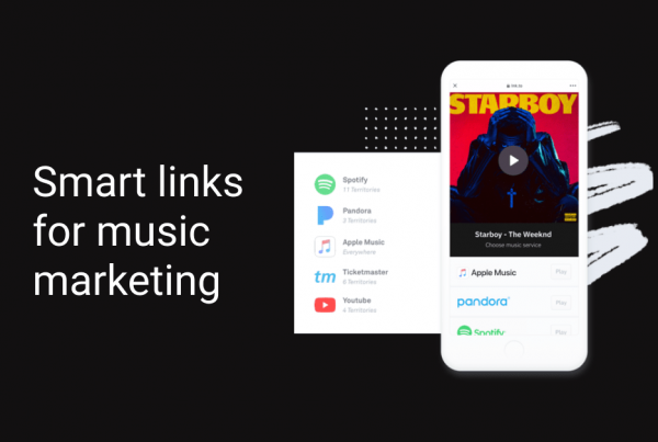 Smart links for music marketing