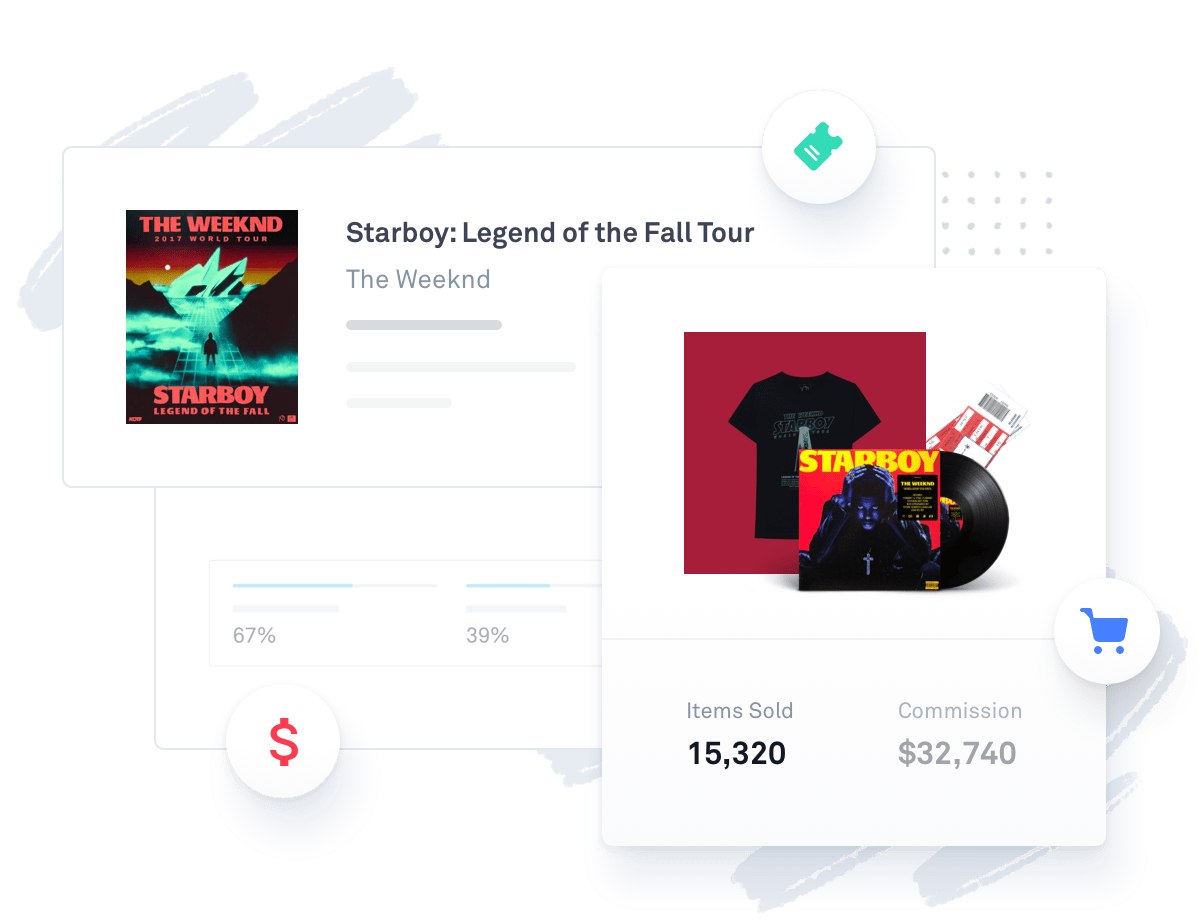 Example of Tour Link tracking commissions