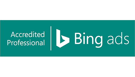 Hide and Seek is Bing Ads Accredited Professional