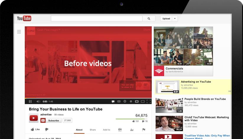 YouTube TrueView Videoadvertentie: In-Stream